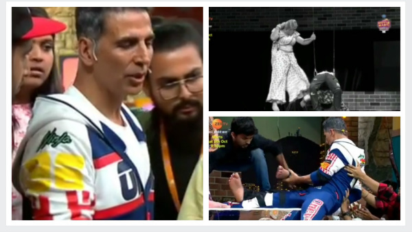 Akshay Kumar Rescues Unconscious Artist On Maniesh Paul's Show & Becomes A Real HERO