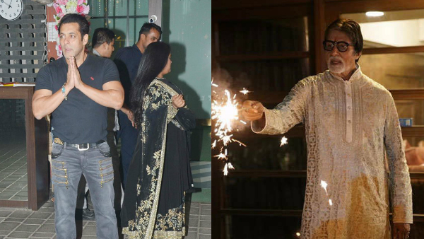 Diwali 2019: Salman Khan, Amitabh Bachchan, Kriti Sanon And Others Have Special Plans In Store!