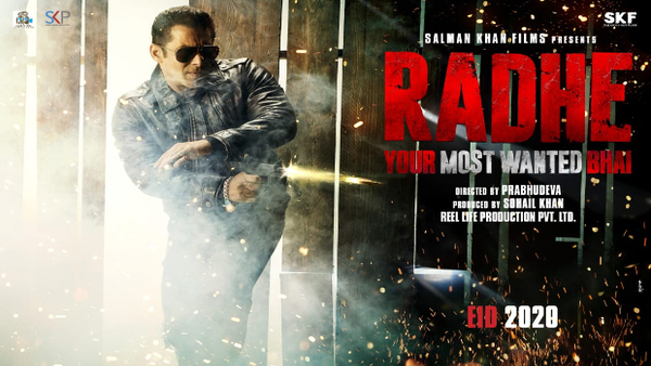 Salman Khan Announces 'Radhe: Your Most Wanted Bhai'
