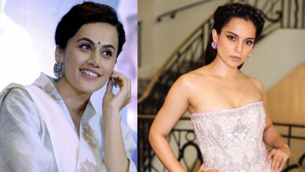 Taapsee Pannu Has This To Say About Kangana Ranaut Rejecting Saand Ki Aankh!