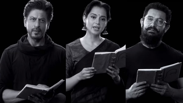 From SRK To Kangana Ranaut, Celebs Mark 150th Birth Anniversary Of Gandhi With 'Change Within'