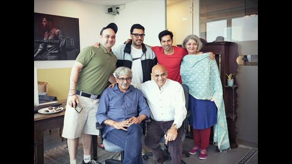 Varun Dhawan Bags His First Biopic; To Play Arun Kheterpal In Sriram Raghavan's Next!
