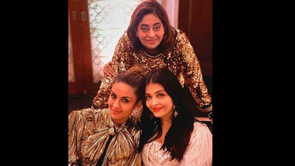 Pics: Aishwarya Rai Bachchan, Karisma Kapoor, Shweta Bachchan & Shah Rukh Khan Party Under One Roof
