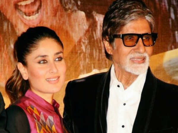 Big B's Throwback Picture With Kareena Goes Viral!