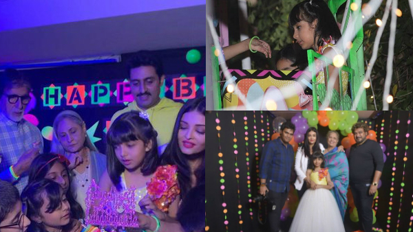 Aaradhya Bachchan's Birthday Bash: Fun-filled Celebrations With Unicorn Cake & Ferris Wheel Rides!
