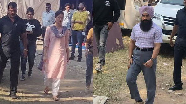Aamir Khan And Kareena Kapoor's Stills Leaked From The Sets Of Laal Singh Chaddha