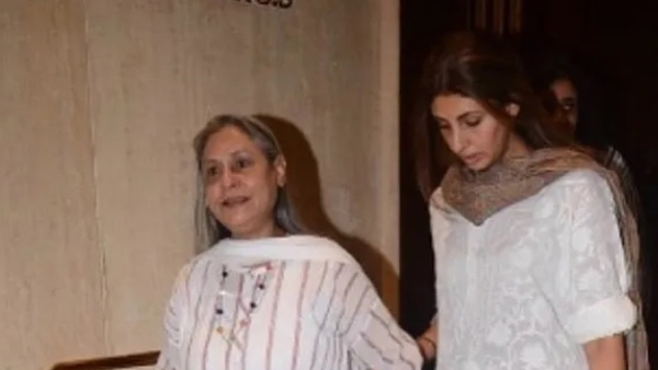 Jaya Bachchan Scolds Paparazzi For Clicking Pictures!