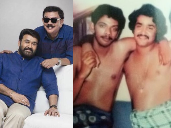 Mohanlal's Throwback Picture With Priyadarshan Is The Best Thing On Internet Today!