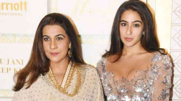 Amrita Singh Is Upset With Sara Ali Khan