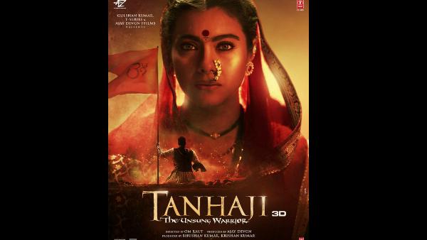 Tanhaji: The Unsung Warrior: Kajol Looks Intense As Savitri Malusare In The New Poster