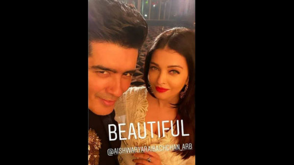 Manish Malhotra In Awe of Aishwarya Rai