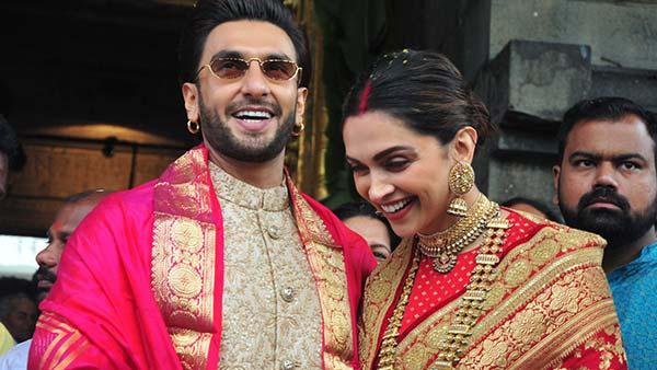 Ranveer Singh And Deepika Padukone Visit Tirupati Temple On Their First Wedding Anniversary