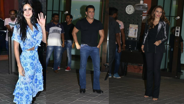 Salman Khan, Katrina Kaif, Iulia Vantur & Others Attend Aayush-Arpita's Wedding Anniversary Bash