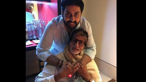 Amitabh Bachchan Shares An Old Letter Penned By Abhishek Bachchan As A Kid!
