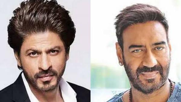 अजय देवगन ने 54 वें जन्मदिन पर शाहरुख खान को विश किया