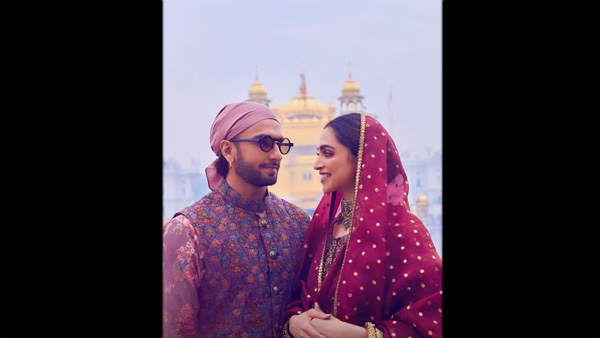 Deepika & Ranveer Visit Golden Temple With Their Families