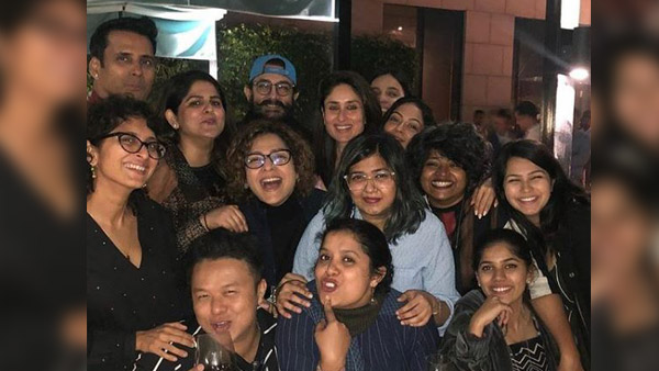 Aamir Khan, Kareena Kapoor Party With Team Laal Singh Chaddha; Pictures Inside