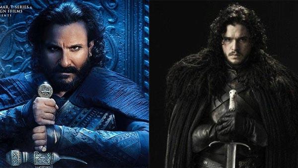 Tanhaji: Saif's First Look Inspired By Jon Snow?