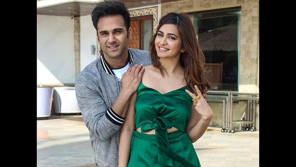 Kriti Kharbanda Finally Admits Dating Pulkit Samrat; Says 'I Am In A Very Happy Place'
