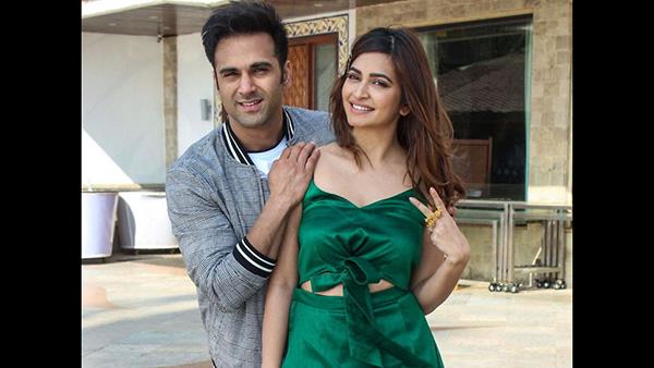 Kriti Kharbanda Finally Admits Dating Pulkit Samrat; Says 'I Am In A Very Happy Place'