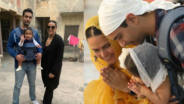 Neha Dhupia And Angad Bedi's Photos With Daughter Mehr On Her First Birthday Are Winning Hearts!