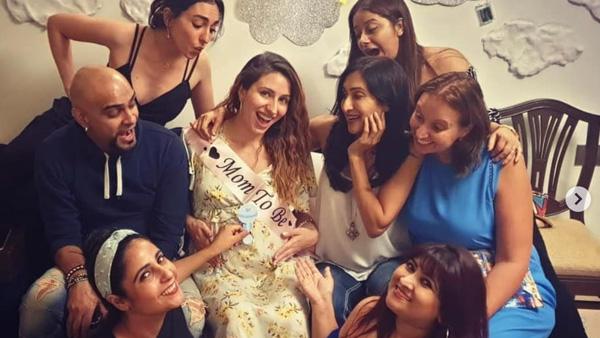 Raghu Ram's Wife Natalie Enjoys Her Baby Shower With Friends