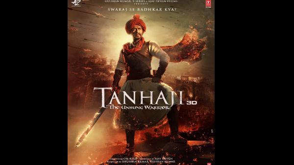 Akshay Kumar Shares New Poster Of Ajay Devgn's Tanhaji: The Unsung Warrior; Says Shine On My Friend