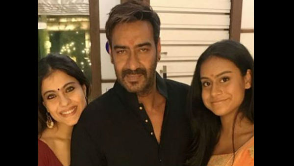 Kajol Says Nysa Would Rather Talk To Her About Boys: 'Ajay Devgn Will Be Standing With A Shotgun'