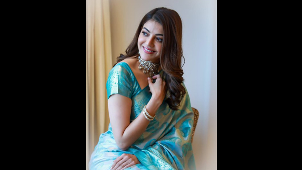 Kajal Aggarwal's Lovely Clicks Take Social Media By Storm