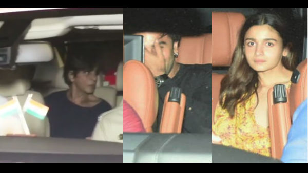 Rani Mukerji Parties With SRK, Alia, Kareena & Others