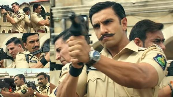 Akshay Kumar, Ranveer Singh, & Ajay Devgn In Rohit Shetty's Cop Universe: Glimpse Video Goes Viral!