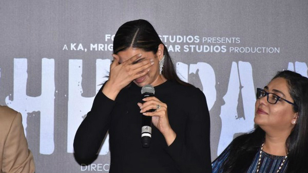 Deepika Padukone Breaks Into Tears At Chhapaak Trailer Launch; Says 'I'm Lost For Words'