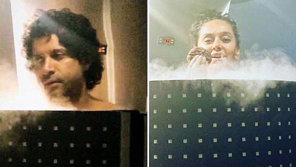 Farhan Akhtar And Shibani Dandekar Share Pictures Of Their Cryotherapy Treatment