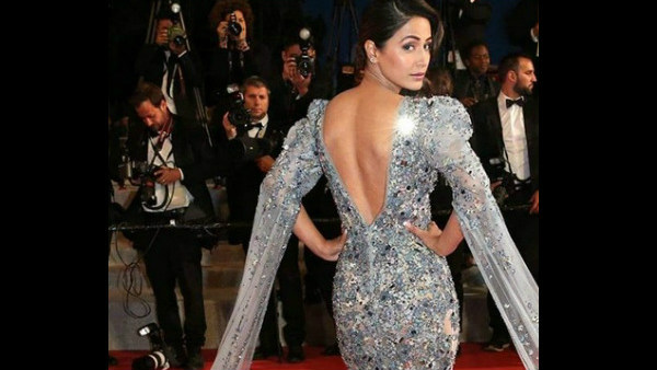 Hina Khan's Cannes Debut