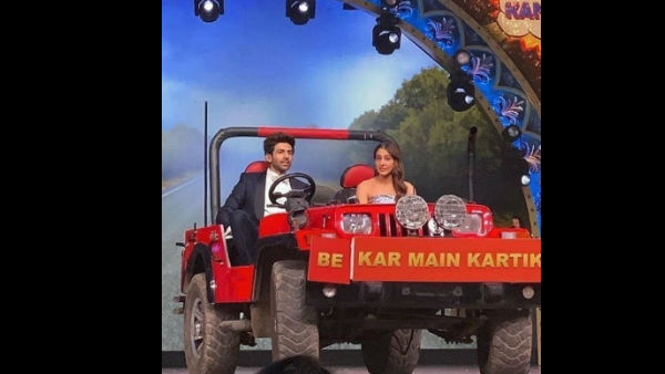 Inside Videos Of Sara & Kartik From The Star Screen Awards!