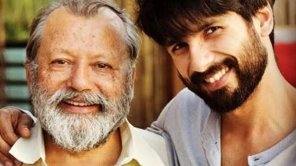 Pankaj Kapur To Re-Unite With Son Shahid Kapoor For 'Jersey'