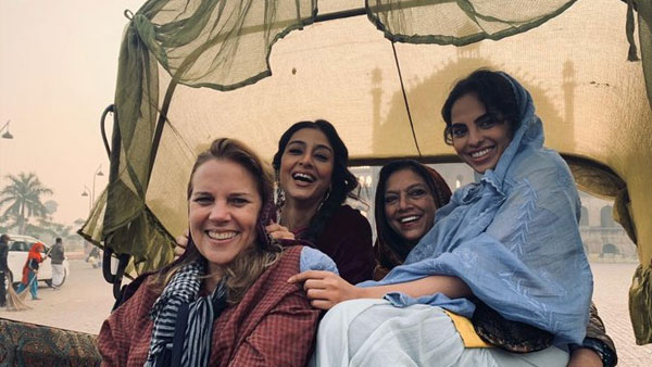 Tabu's Picture With Mira Nair In The Lucknow Shooting Of 'A Suitable Boy' Goes Viral