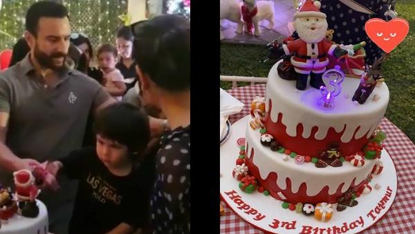 ALSO READ: Taimur Ali Khan's Birthday Celebrations: Saif-Kareena's Little One Cuts A Santa Claus Cake [VIDEO]