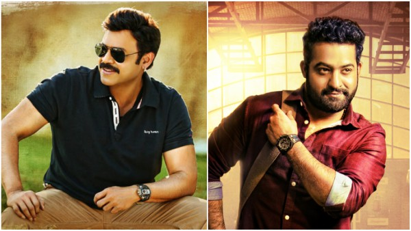 Venkatesh Expresses His Wish To Act With Jr NTR!