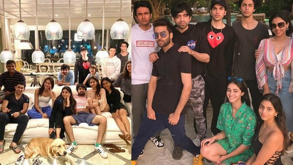 Inside Photos From Suhana Khan's New Year Party: SRK's Daughter Chills With Ananya Panday & Gang