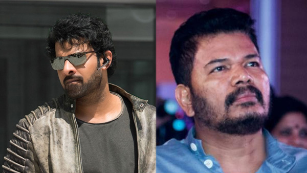 Prabhas To Team Up With Filmmaker Shankar For An Actioner? Deets Inside!