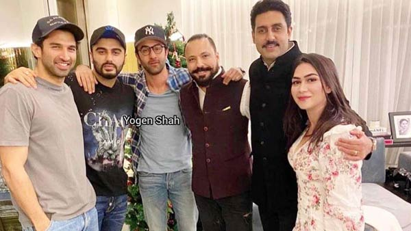 Ranbir, Arjun, Aditya, Abhishek Party Together