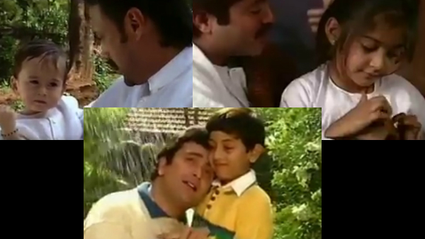 When Ranbir Kapoor, Tiger Shroff And Sonam Kapoor Starred As Kids In A '90s Video With Their Fathers
