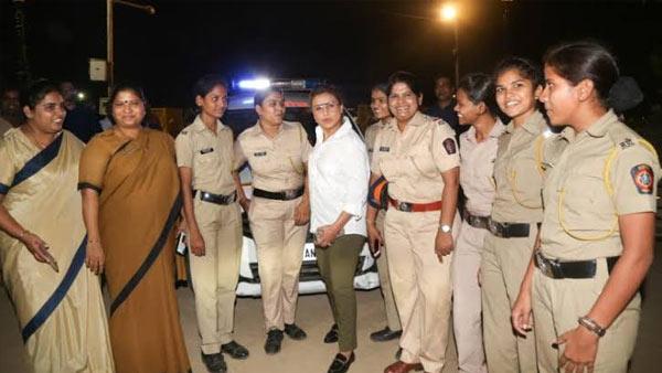 Mardaani 2: Rani Mukerji Meets Special Night Patrol Police Team In Mumbai; Salutes Police Force