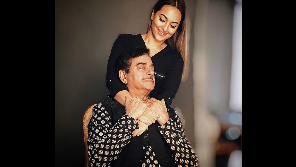 Sonakshi Sinha's Cute Birthday Wish For Father Shatrughan Sinha Proves She's A Daddy's Girl!