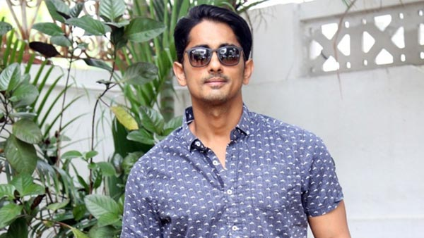 Siddharth To Join The Sets Of Maha Samudram