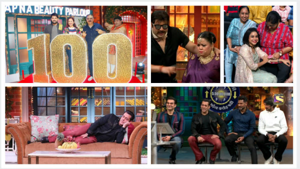 TKSS Snippets: Kapil Sharma's Mom Graces Show's 100th episode; Salman's Dabangg 3 Cast Have A Blast