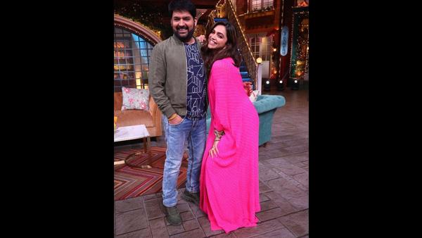 Deepika Padukone Reveals Kapil's Baby Is Adorable