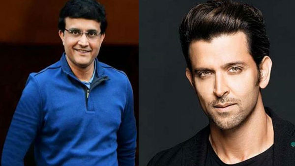 Hrithik Roshan Is Sourav Ganguly's Choice To Play His Character In His Biopic