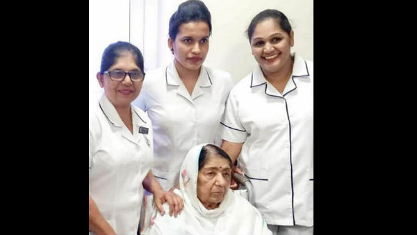 Lata Mangeshkar's Hospital Pictures Go Viral; Dilip Kumar Is Happy That His 'Choti Behen' Is Better